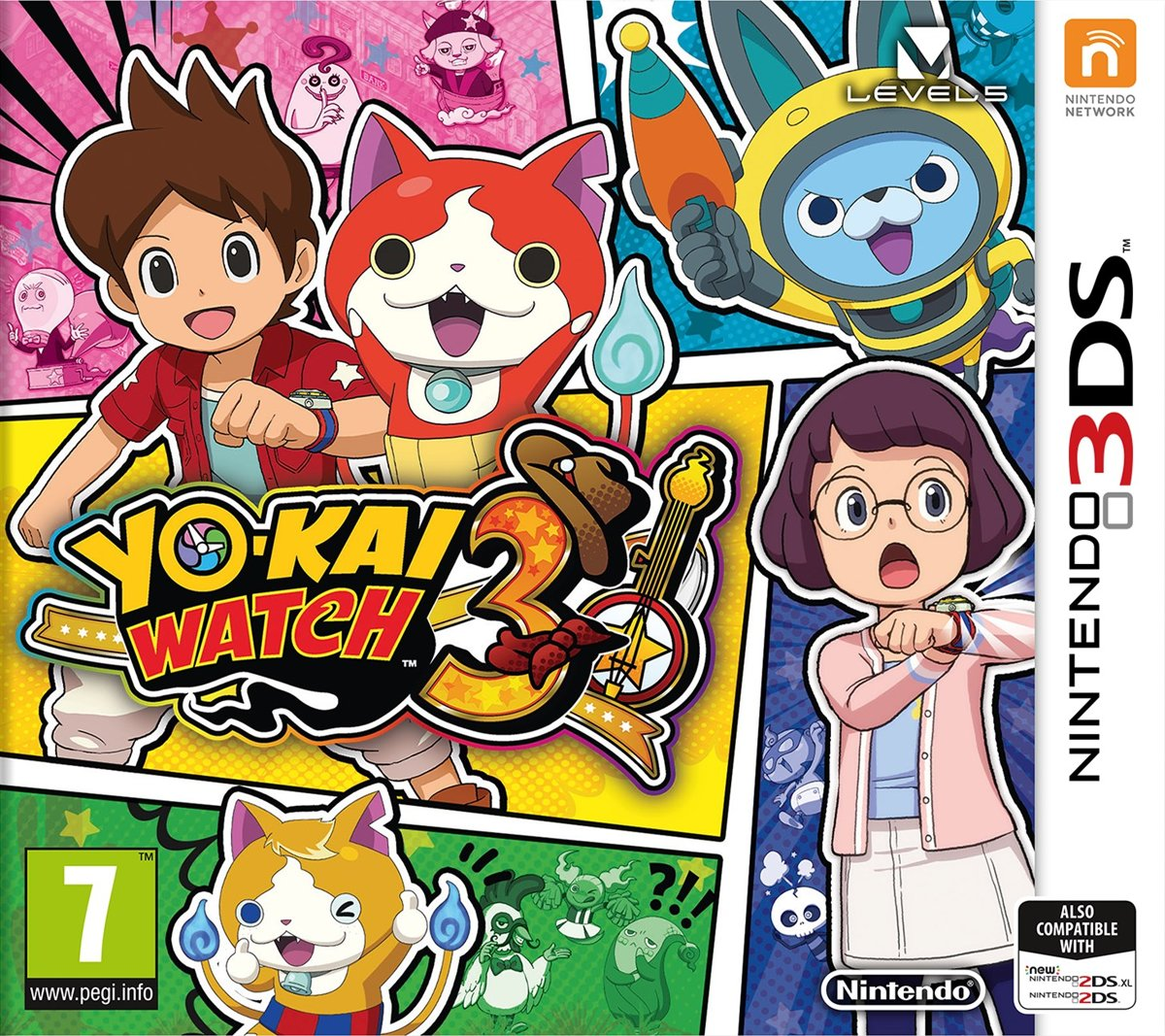 Yo Kai Watch 3 -   3DS