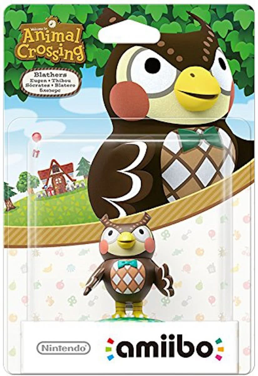 amiibo Animal Crossing Colleciton - Blathers - 3DS + Wii U + Switch