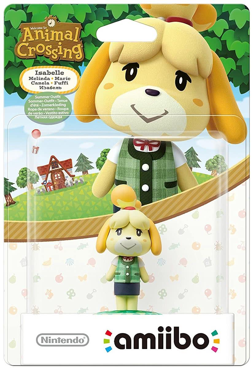 amiibo Animal Crossing Collection - Isabelle Summer - 3DS + Switch + Wii U