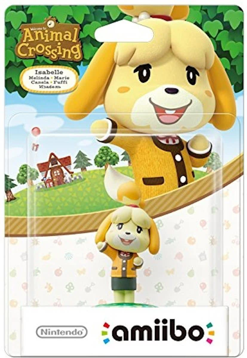 amiibo Animal Crossing Collection - Isabelle Winter - Wii U + NEW 3DS + Switch