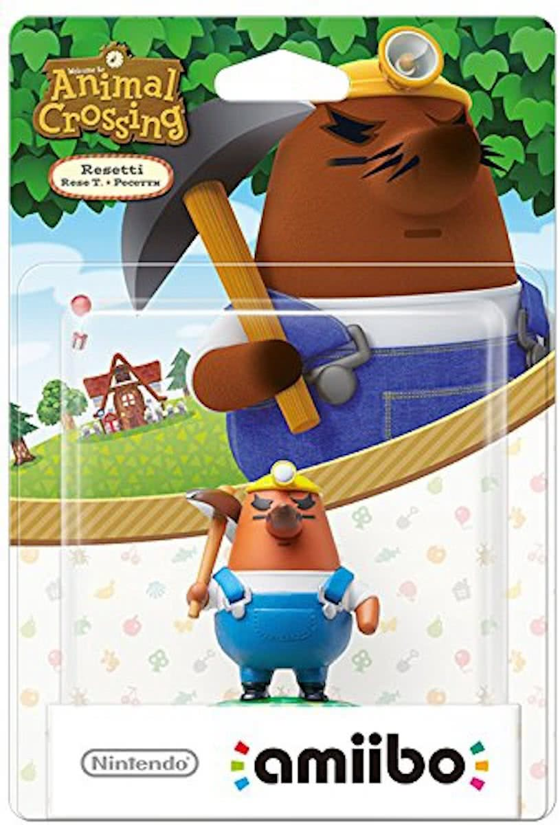 amiibo Animal Crossing Collection - Resetti - 3DS + Wii U + Switch