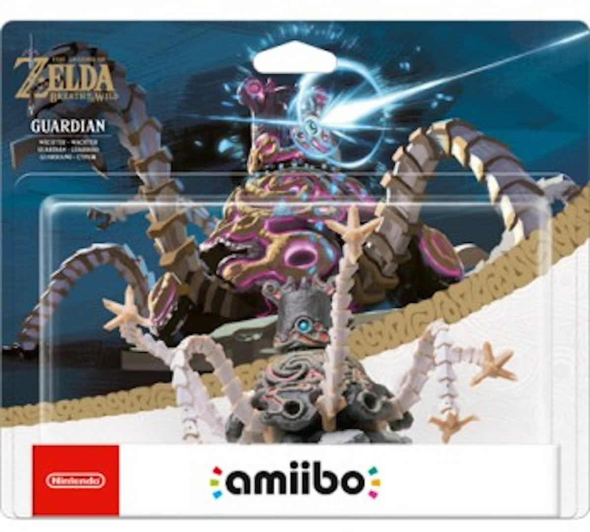 amiibo Legend of Zelda: Breath of the Wild Collection - Guardian - 3DS + Wii U + Switch