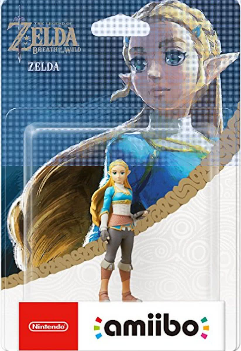 amiibo Legend of Zelda: Breath of the Wild Collection - Zelda - 3DS + Wii U + Switch