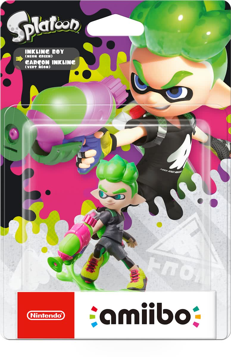 amiibo Splatoon Collection - Inkling Boy - 3DS + Wii U + Switch