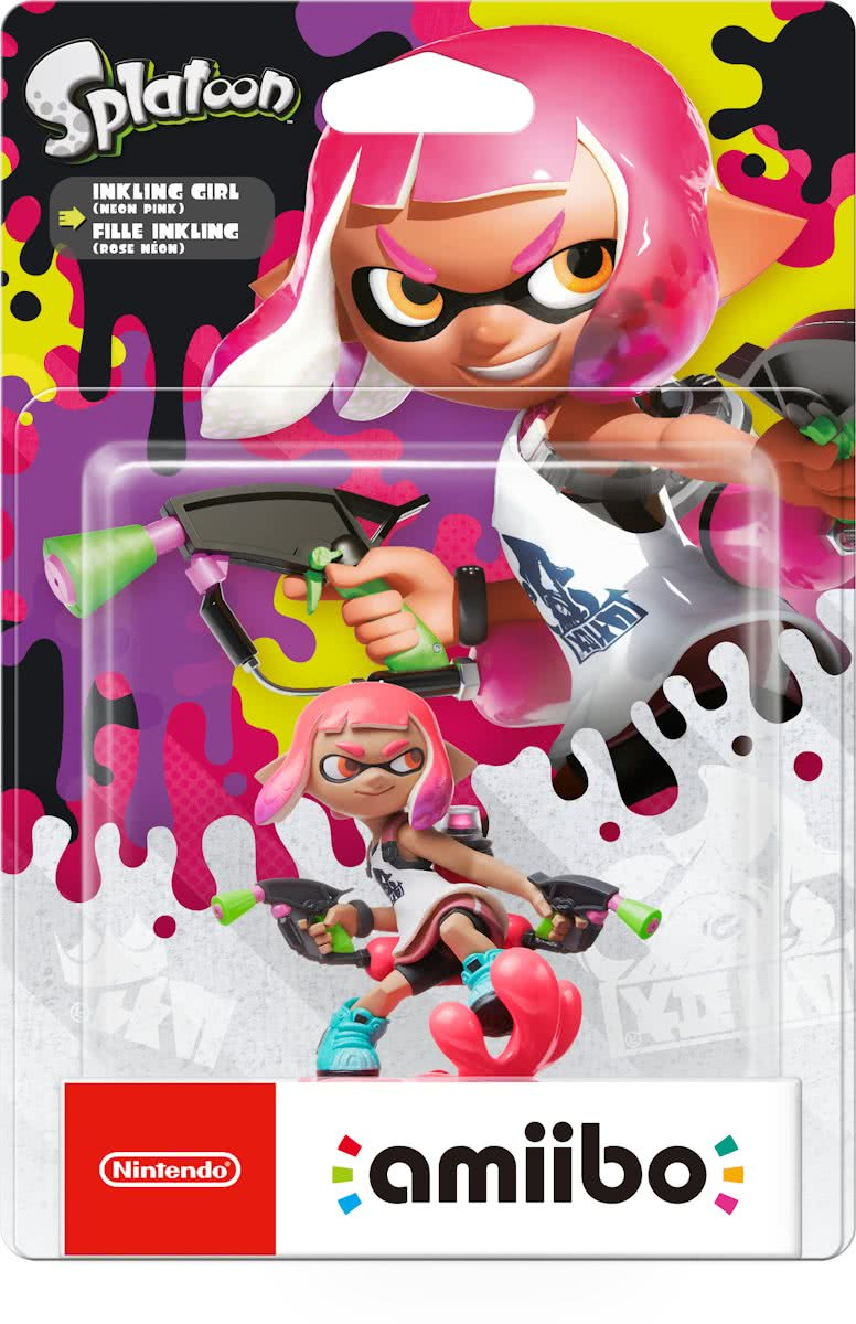 amiibo Splatoon Collection - Inkling Girl - 3DS + Wii U + Switch