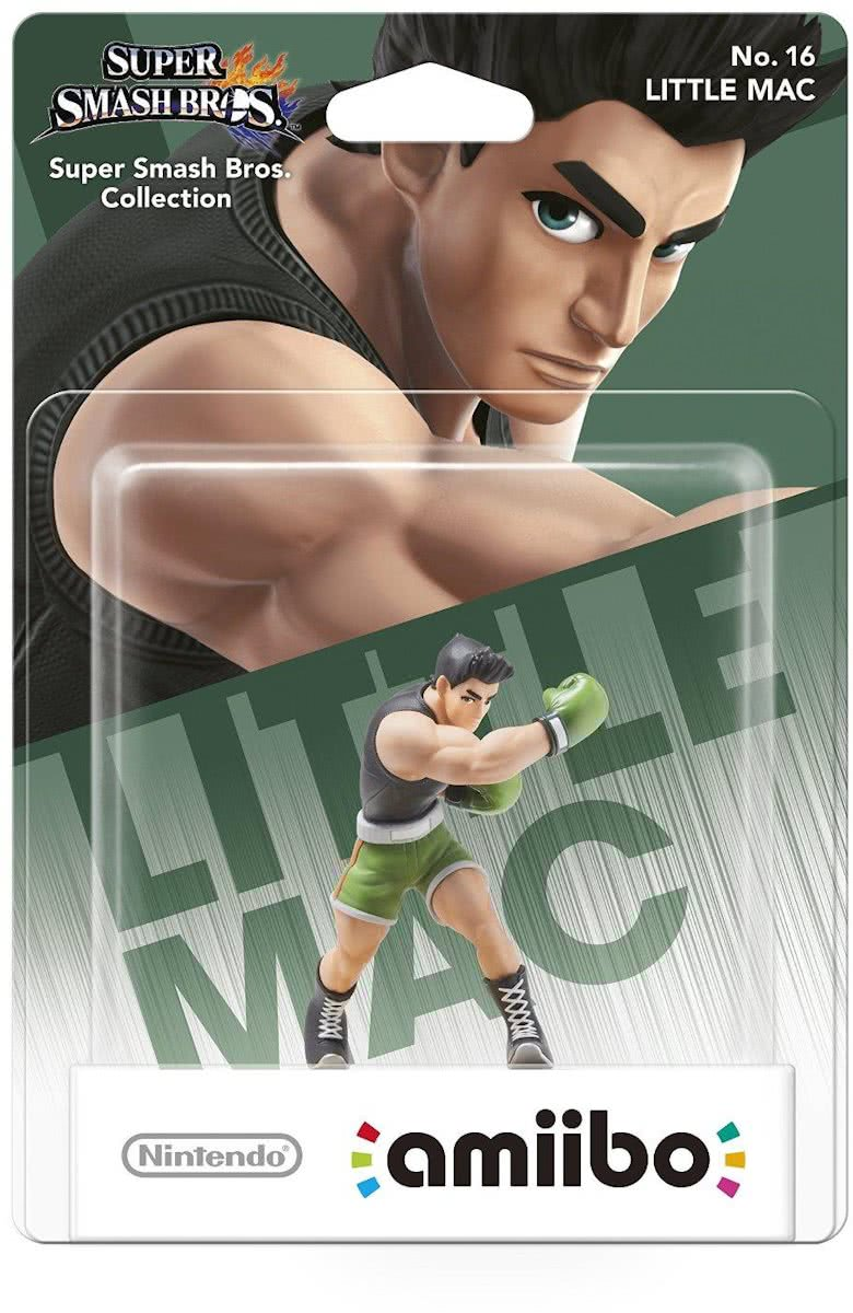 amiibo Super Smash Bros Collection - Little Mac - Wii U + NEW 3DS + Switch