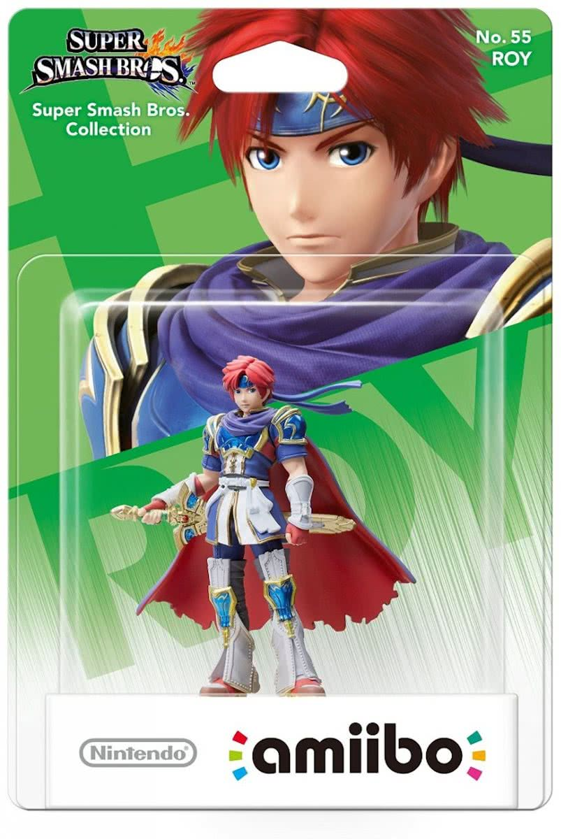 amiibo Super Smash Bros Collection -  Roy - Wii U +  NEW 3DS + Switch