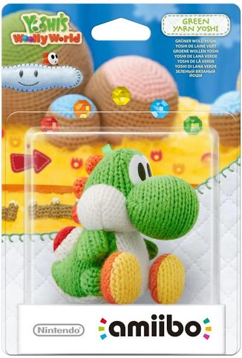 amiibo Yoshis Wooly World Collection - Yoshi (Groen) - 3DS + Wii U + Switch