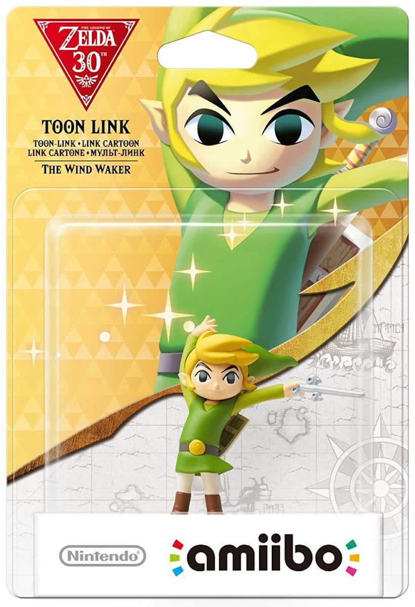 amiibo Zelda Collection - Toon Link (Wind Waker edition) - 3DS + Wii U + Switch