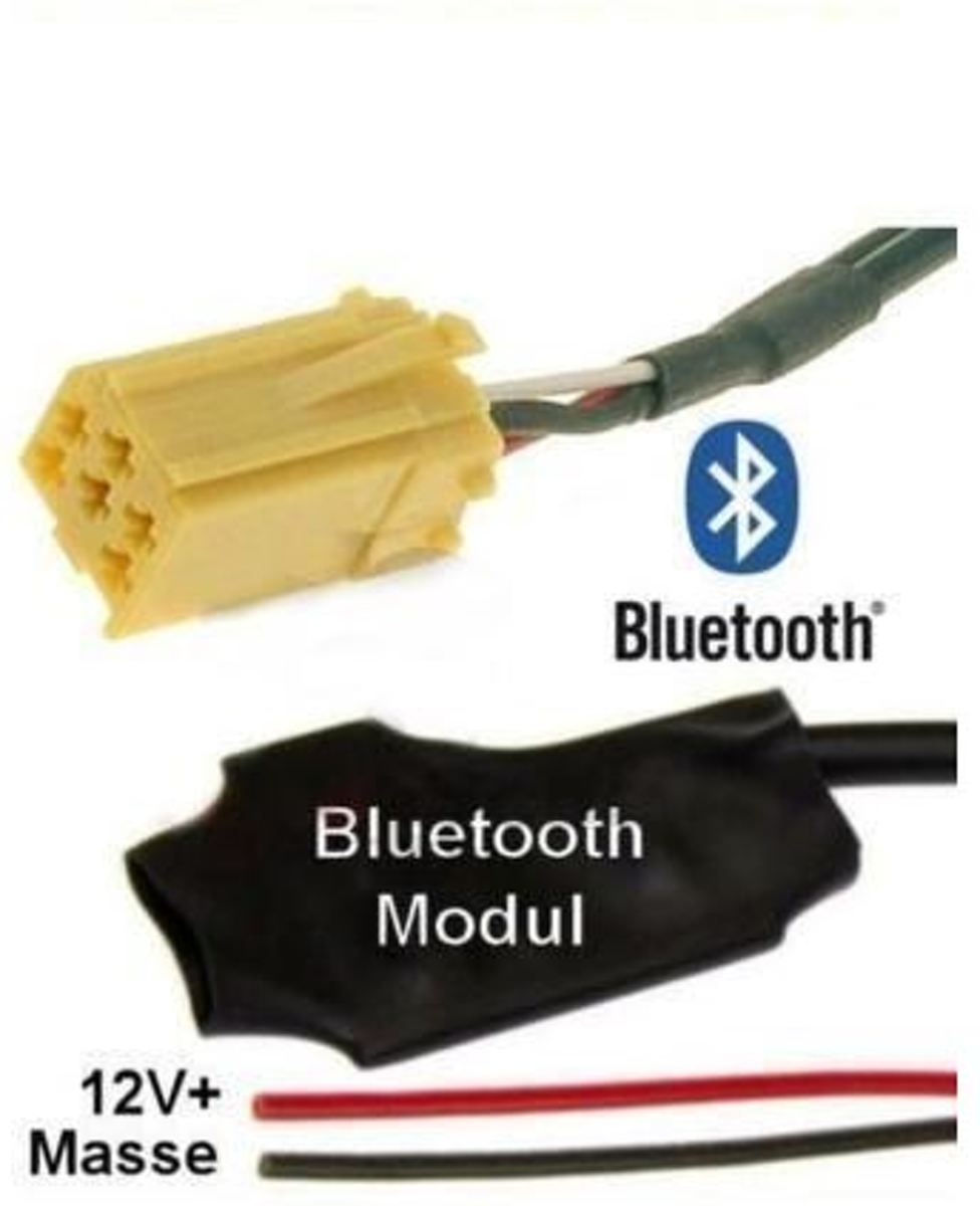 Fiat 500 Bluetooth Streaming Adapter 500C Abarth 599 Scorpione