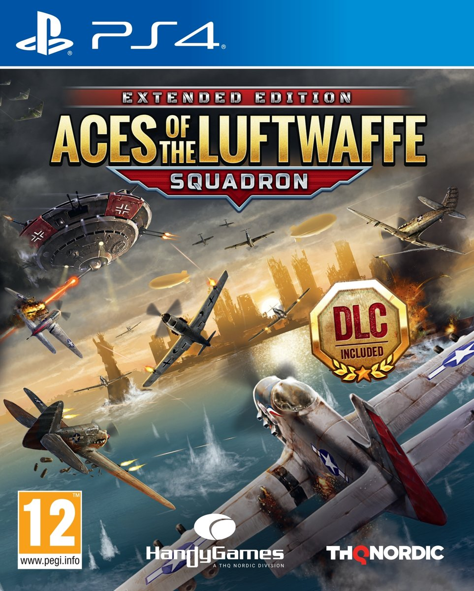 Aces of the Luftwaffe - Squadron Edition - PS4