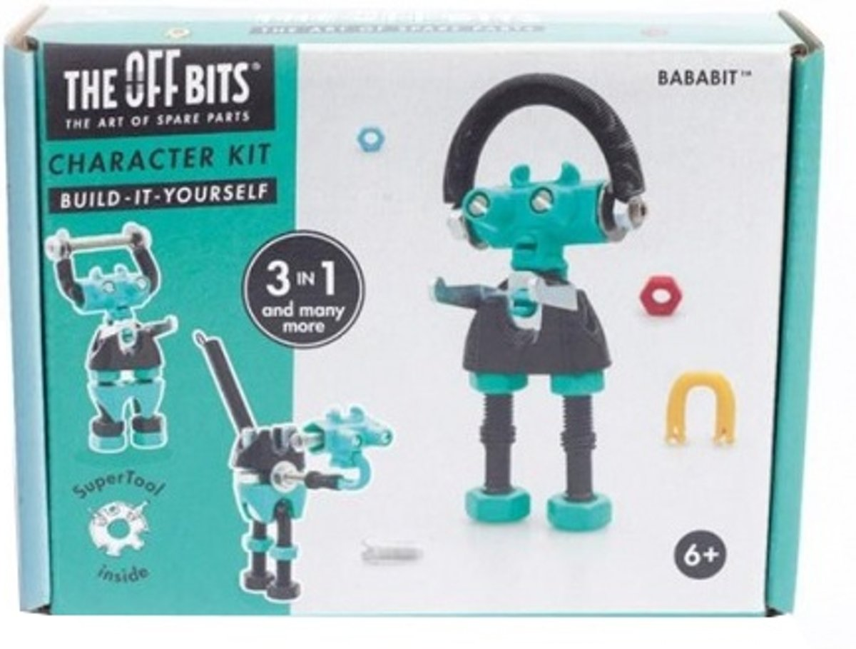 Offbits Bouwpakket Character Kit 3-in-1 Bababit Groen