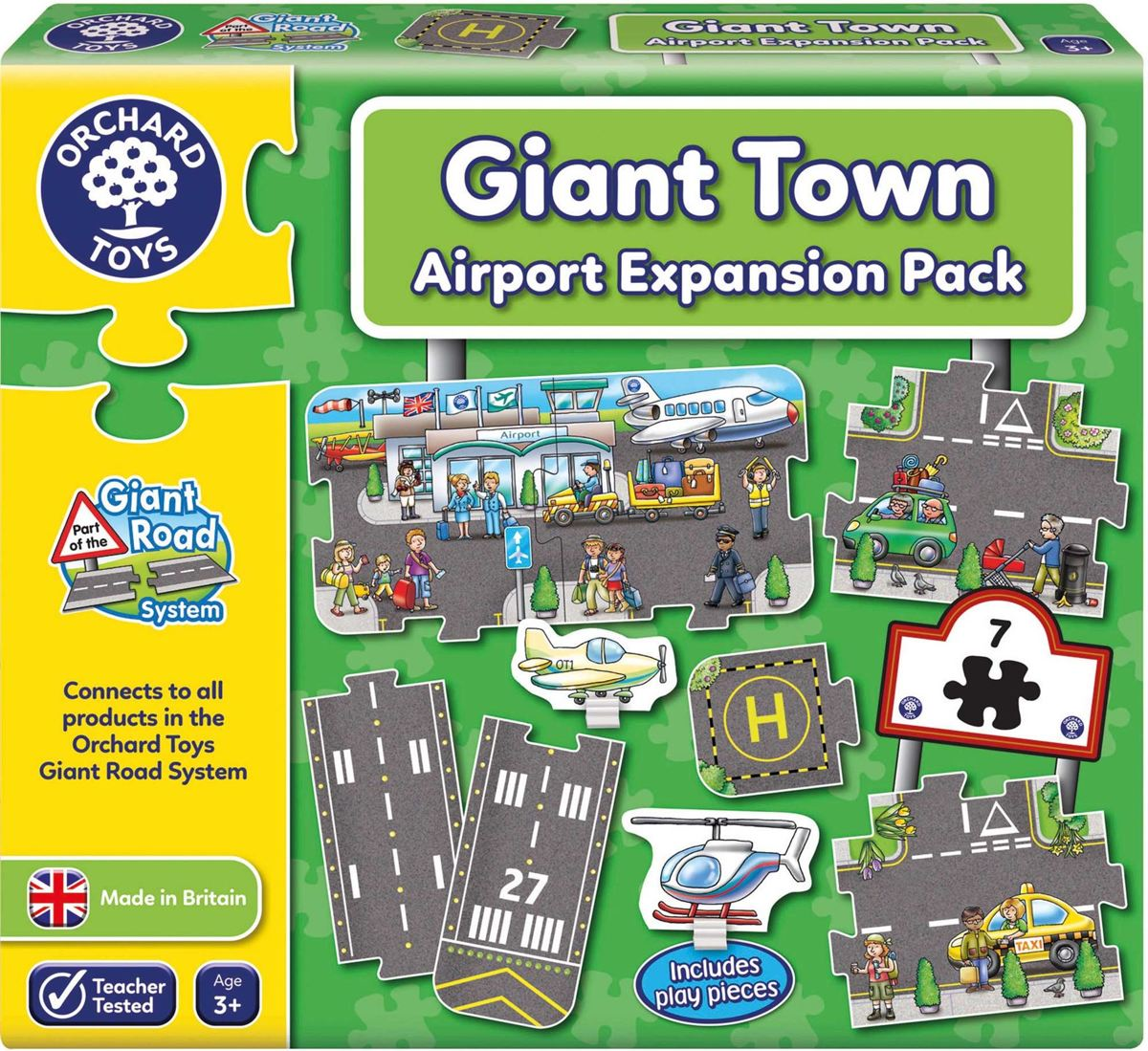 Orchard Toys Giant Town Airport Expansion Pack