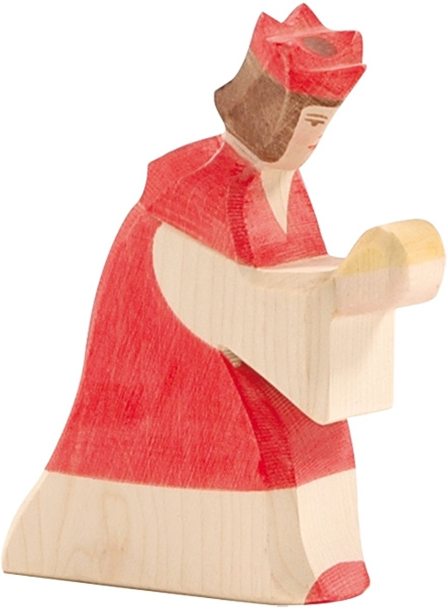 Speelgoed | Wooden Toys - King Red