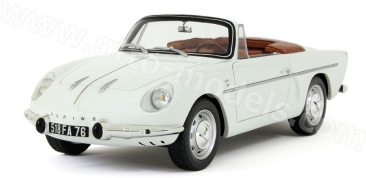 Renault Alpine A110 Cabriolet Wit 1-18 Ottomobile Limited 999 Pieces