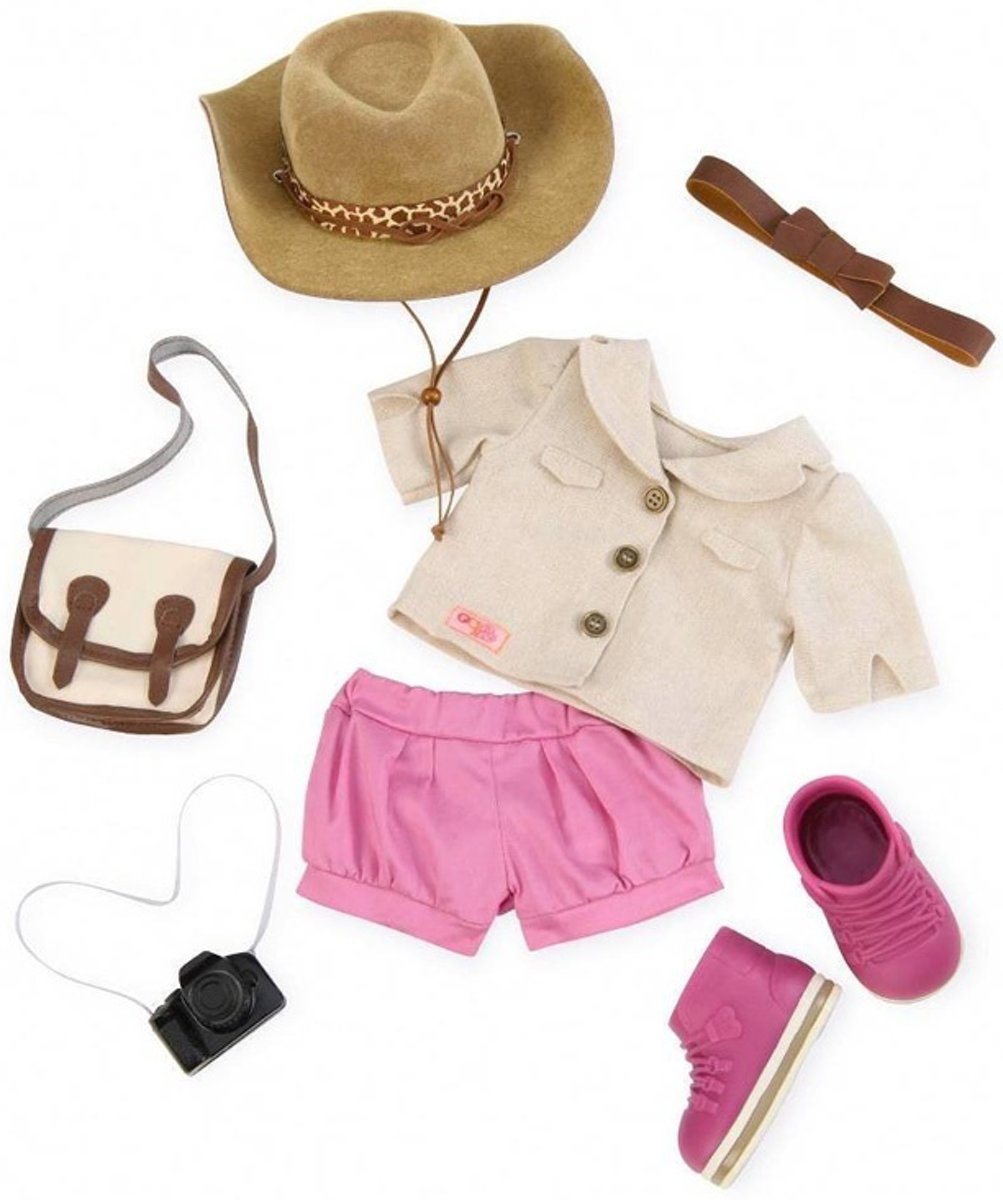Kleding set Safari ready