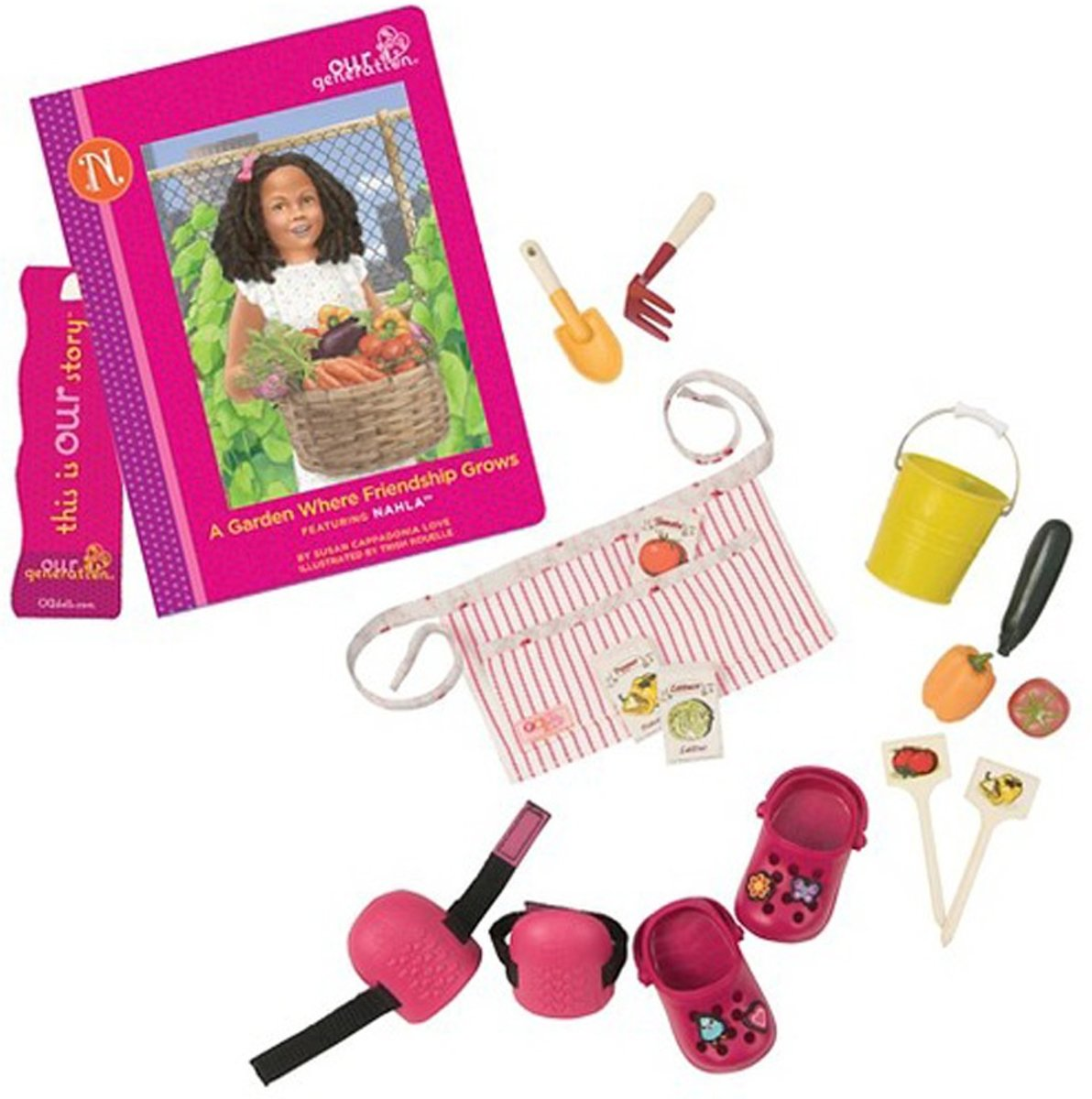 Poppen speelset Nahlas read and play set