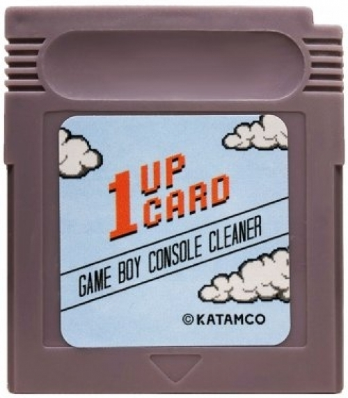 1 Up Card Game Boy Console Cleaner