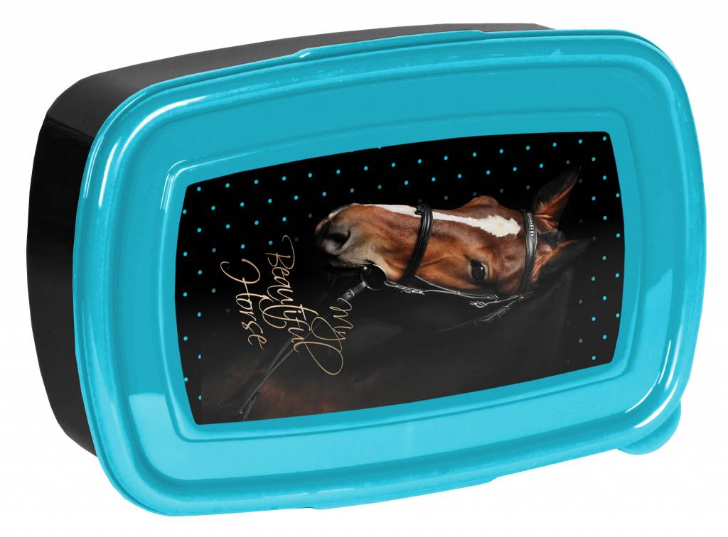 Animal Pictures Lunchbox My beautiful horse - 18,5 x 13 x 6 cm - Polypropyleen