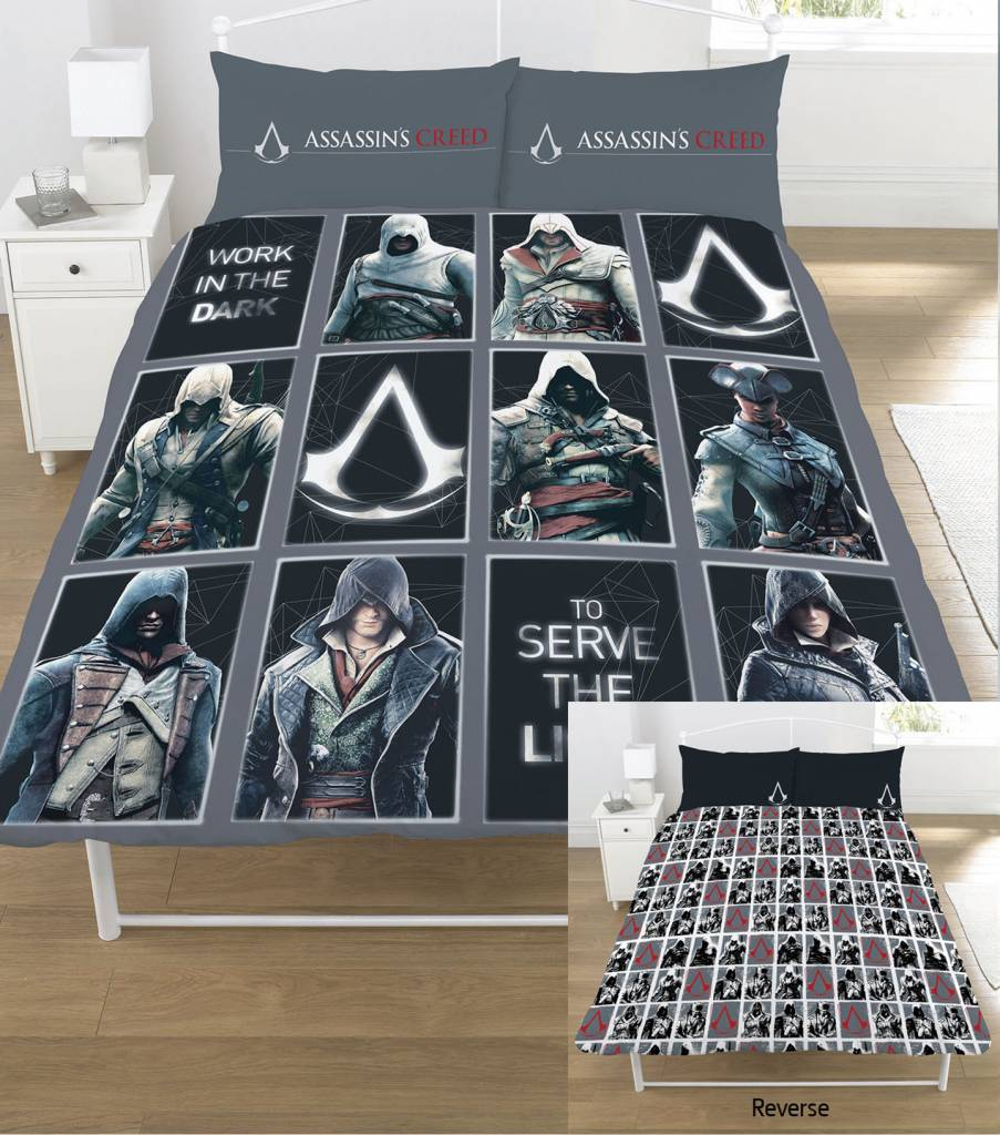 Assassins Creed   Legacy tweepersoons - 200x200cm / 50x75cm - polycotton