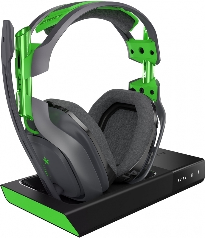 Astro A50 Wireless Headset (Black/Green) 2017