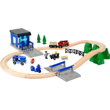 BRIO World redding politie set 33845