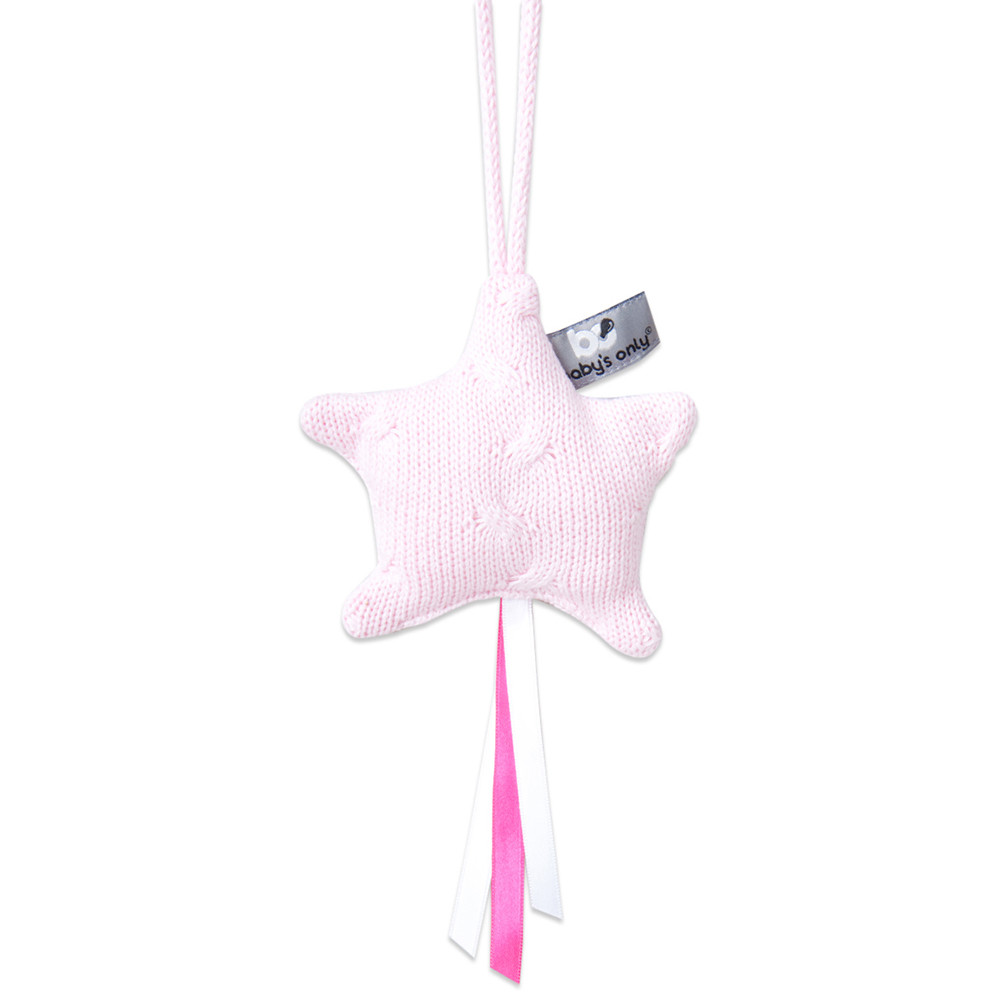 Baby\s Only Decoratiester Cable Baby Roze