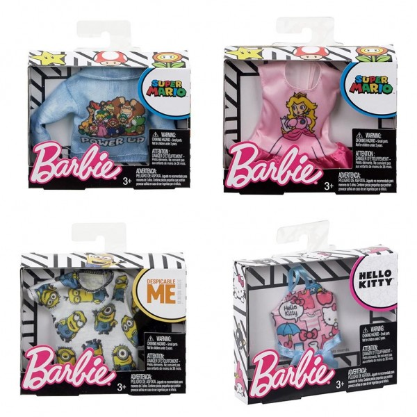 Barbie Fashion Tops - Licensed