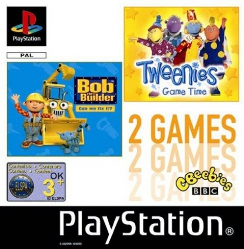 Bob the Builder / Tweenies (double pack)
