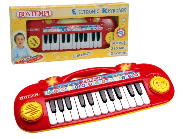 Bontempi electrisch keyboard met licht