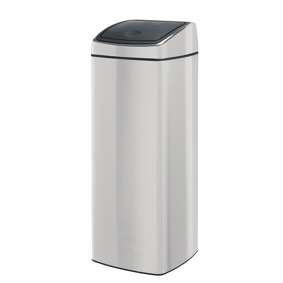 Brabantia Touch Bin 25 l - Matt Steel Fingerprint Proof