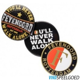 Buttons feyenoord 3-pack