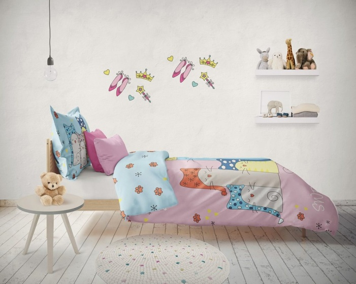Carbotex   Sweet Dreams katten 160 x 200 cm
