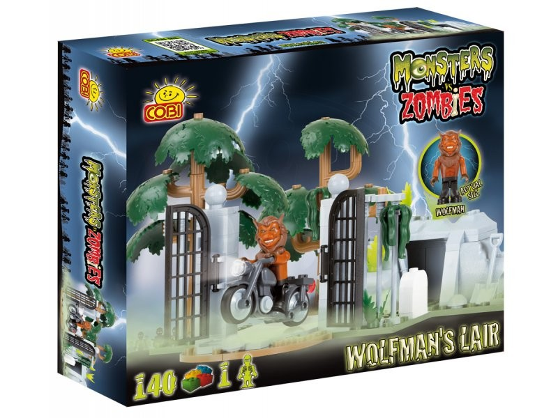 Cobi Monsters vs Zombies Wolfman\s lair - 28142
