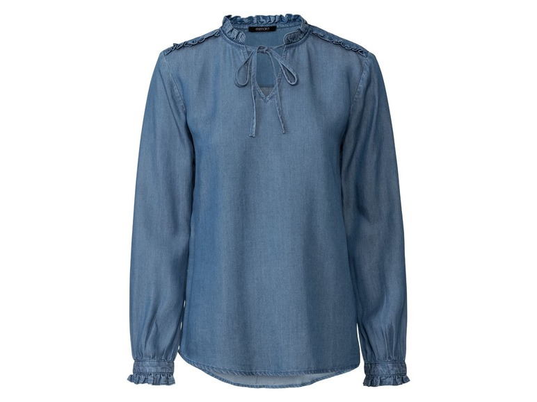 Dames blouse 40, Donkerblauw