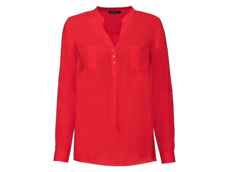 Dames blouse 42, Rood