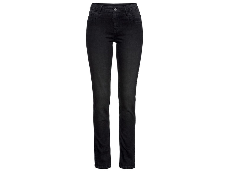 Dames jeans - slim fit 38, Zwart