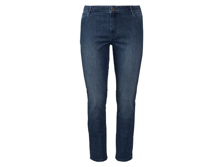 Dames jeans super skinny plus size 54, Blauw