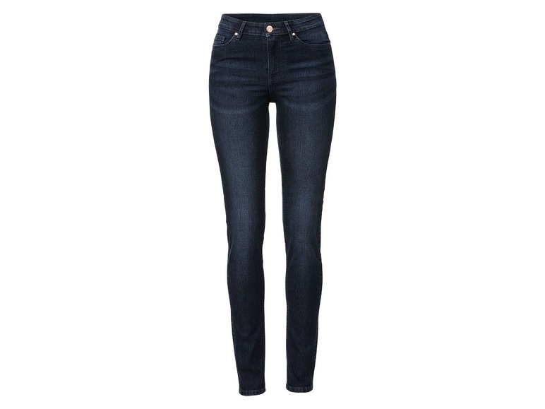 Dames skinny jeans 38, Donkerblauw