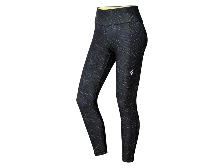 Dames sportbroek M (40/42), All-over-print/zwart