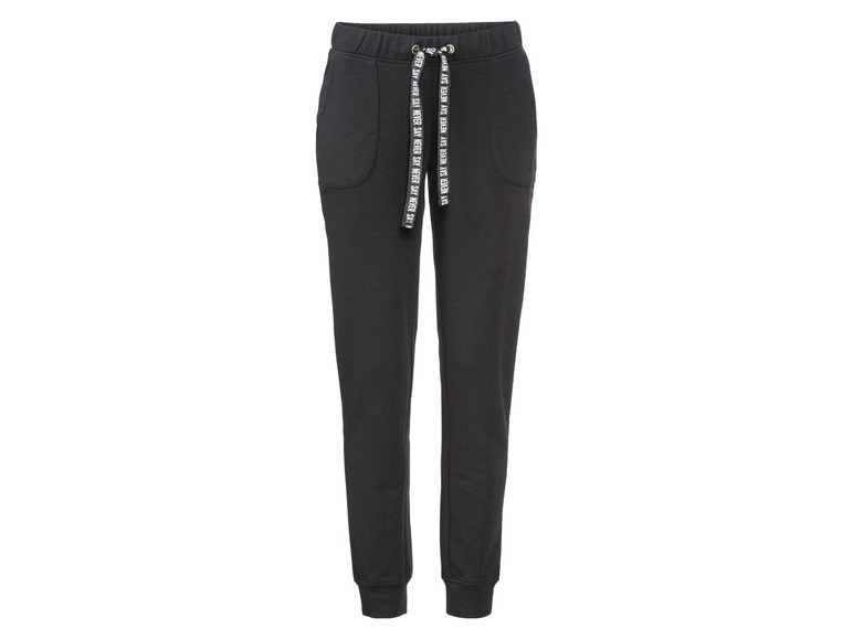 Dames sweatbroek S (36/38), Zwart