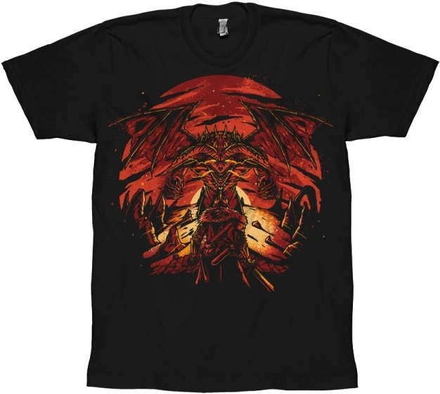 Dark Souls 3 T-Shirt Dragon