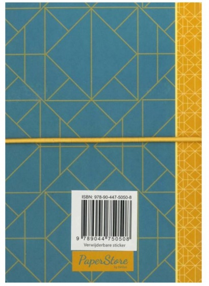 Deltas Paperstore: adresboek Patterns 14,6 cm