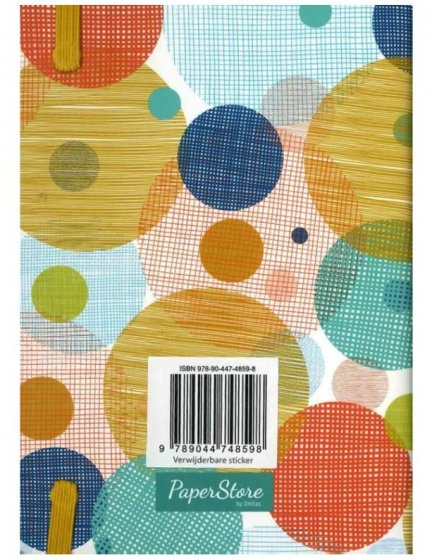 Deltas Paperstore: notitieboek Circles 14,5 cm
