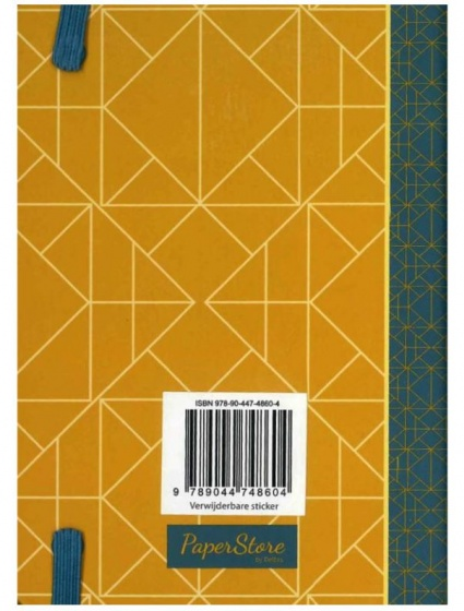 Deltas Paperstore: notitieboek Patterns 14,5 cm