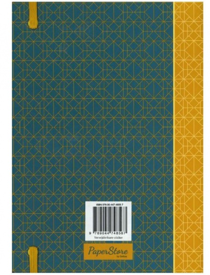 Deltas Paperstore: notitieboek Patterns 20 cm