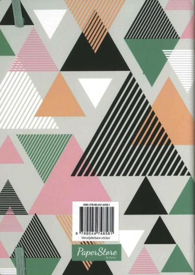 Deltas Paperstore: notitieboek Triangles 20 cm