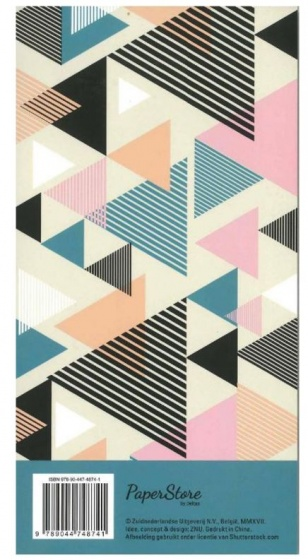 Deltas Paperstore: to dolijst Triangles 21,5 cm