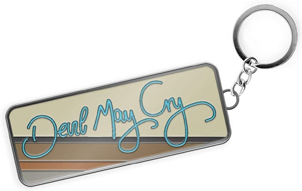 Devil May Cry 5 Logo Metal Keychain