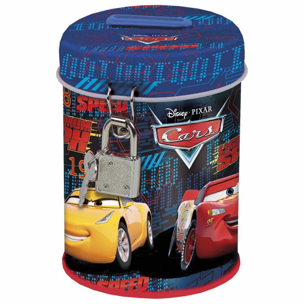 Disney Cars 3 Spaarpot Speed - 11.5 x 7.5 x 7.5 cm
